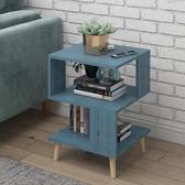 北歐簡約現代小茶幾客廳創意方幾經濟型沙發桌邊櫃簡易小戶型桌子 城市科技DF