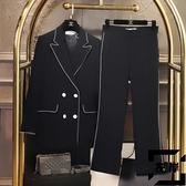 西服套裝女韓版休閒時尚氣質職業西裝外套秋季【左岸男裝】