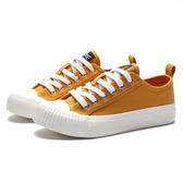 KANGOL 帆布 餅乾鞋 芥末黃 奶由底 休閒 女(布魯克林) 6952200160