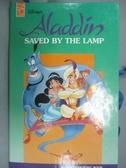 【書寶二手書T1/少年童書_QFJ】ALADDIN SAVED BY THE LAMP (立體書)