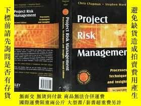 二手書博民逛書店Project罕見risk management : proce