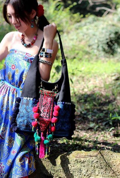 熱銷歐美 高級藤編包 民族風包包 手工刺繡包 學生書包 男女 電腦包 手提肩背包 斜背包