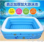 泳池 游泳池充氣保溫加厚兒童戲水池海洋球池游泳浴桶 YXS街頭布衣