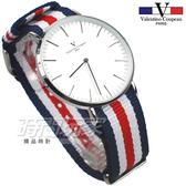 valentino coupeau PARIS 范倫鐵諾 異國風情 英倫情人 指針錶 防水手錶 中性錶 女錶 男錶 V61349BWR5銀