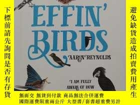 二手書博民逛書店Effin 罕見Birds Undated Monthly Weekly Planner Calendar: A