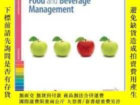 二手書博民逛書店Managefirst:罕見Principles Of Food And Beverage Management