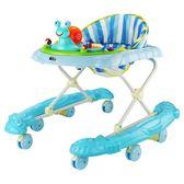 嬰兒童車寶寶助步學步車6/7-18個月防側翻多功能音樂學行車腳步車HS【黑色地帶】