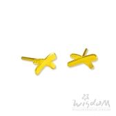 威世登 黃金流線型貼耳耳環 金重約0.27~0.29錢 送禮推薦 生日 情人節 GF00059-EEX-FIX