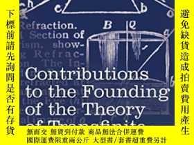 二手書博民逛書店Contributions罕見To The Founding O