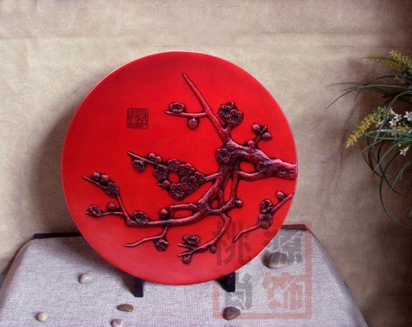 [超豐國際]樹脂仿古工藝品 家居送禮裝飾擺件 裝飾盤-
