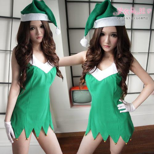 聖誕樹 綠色洋裝 聖誕樹造型表演服Green彼德潘小精靈- 愛衣朵拉