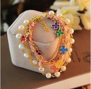 Star 日韓系列 -珍珠造型手鏈 - C103