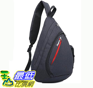 [106美國直購] 肩背包 Sling Bag Chest Shoulder Backpack Crossbody Multipurpose Daypack Bagtrip BT01