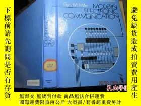 二手書博民逛書店modern罕見electronic communication