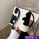 水桶包 法國質感流行小包包女包2020新款潮時尚簡約單肩包網紅百搭水桶包 零度3C