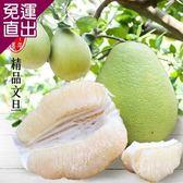 彩水果 頂級鶴岡60年老欉精品文旦-1箱(5斤/箱)【免運直出】