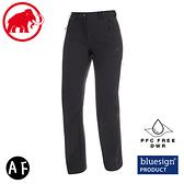 【MAMMUT 長毛象 女 AC Winter Hiking SO Pants AF 軟殼褲《黑》】1021-00440/機能褲