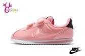 NIKE阿甘鞋 中童鞋 情人節限定 現貨 CortezBasicVDAY 復古慢跑鞋 P7020 #粉橘◆OSOME奧森鞋業
