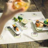 日式簡約純棉餐墊布藝西餐墊
