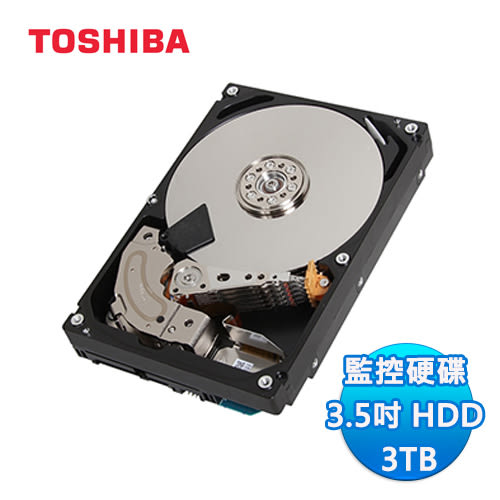Toshiba 300V 3T SATA 32M 監控碟 監控硬碟 (DT01ABA300V)
