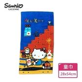 【Sanrio三麗鷗】凱蒂貓非日常童巾 100%棉 28x54cm