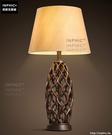 INPHIC- 歐式藝術檯燈美式客廳書房臥室床頭櫃溫馨布藝樹脂裝飾檯燈_S197C