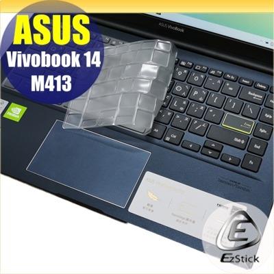 【Ezstick】ASUS M413 M413IA 奈米銀抗菌TPU 鍵盤保護膜 鍵盤膜