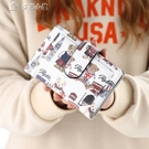 短夾新款錢包女短款韓版小熊可愛零錢包ins學生少女時尚可愛 快速出貨