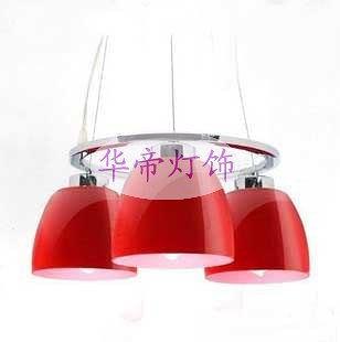 餐廳溫馨吊燈 小紅帽