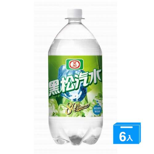 黑松汽水2000ml*6入/箱【愛買】