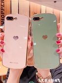 蘋果8plus手機殼iphone7高檔女款軟殼8硅膠電鍍7全包攝像鏡頭防摔保護套7plus個性創意新 艾家