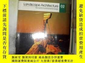 二手書博民逛書店Landscape罕見Architecture 02園林02Y2