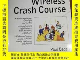 二手書博民逛書店Wireless罕見Crash CourseY12800 Pau