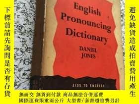二手書博民逛書店english罕見pronouncing dictionaryY