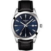 TISSOT天梭 紳士石英手錶-40mm T1274101604101