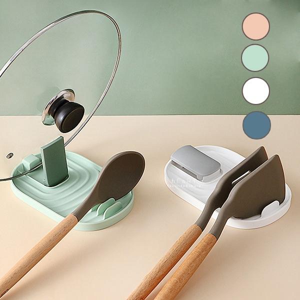 廚房鍋蓋炒菜用具收納架 廚房用具收納架 鍋蓋架