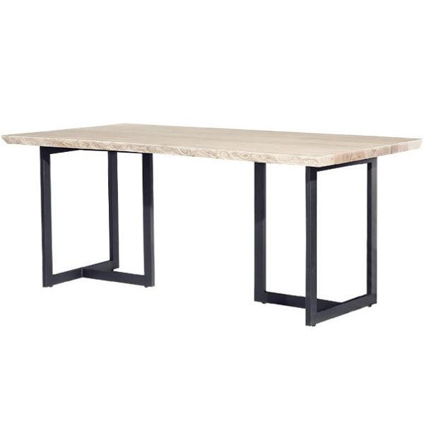 餐桌 PK-538-3 16-02 自然邊6尺餐桌 (不含椅子)【大眾家居舘】