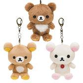 【KP】拉拉熊手機吊飾娃娃 絨毛吊飾 Rilakkuma 掛飾 玩偶 正版日本進口 DTT0522190