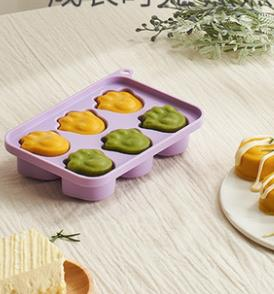 烘焙模具 糕點蛋糕模具 寶寶蒸糕模具嬰兒蒸蛋輔食工具硅膠香腸米糕烘焙模具可蒸煮
