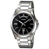 CASIO MTP-1370D-1A1 簡潔質感時尚腕錶 MTP-1370D-1A1VDF 熱賣中!