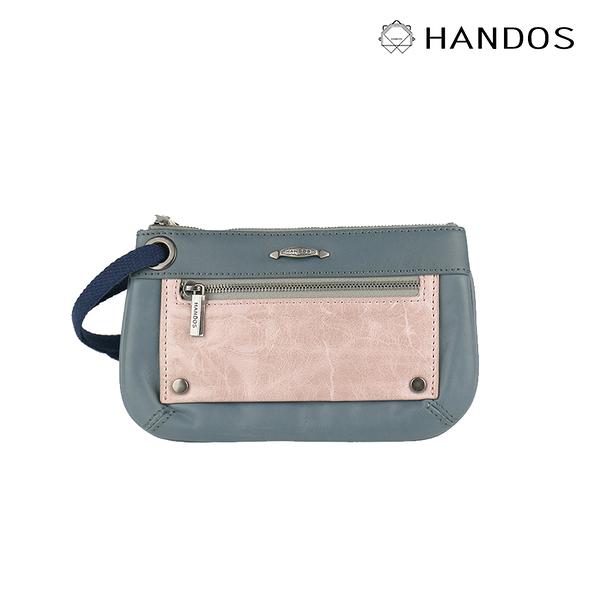 HANDOS|Bracelet 浪漫輕便手拿包 - 藍灰 ↘6折