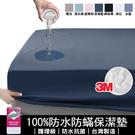 YCB護理級100%防水防蹣抗菌床包式保...