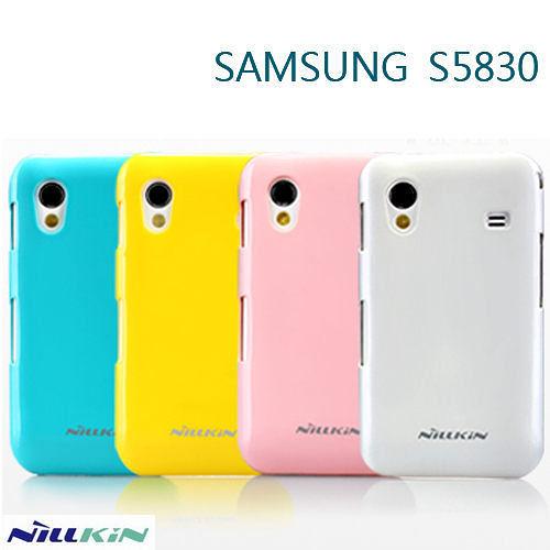 ☆愛思摩比☆~Samsung S5830 Galaxy Ace 專用NILLKIN 亮面護盾硬質保護殼 保護套 硬殼 彩殼