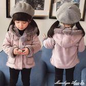 外套 童裝女童加絨外套1-3歲5-6兒童秋冬裝洋氣寶寶保暖棉衣 瑪麗蓮安