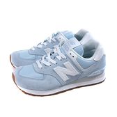 NEW BALANCE 574 運動鞋 復古鞋 粉藍色 女鞋 窄楦 WL574PE2-B no926