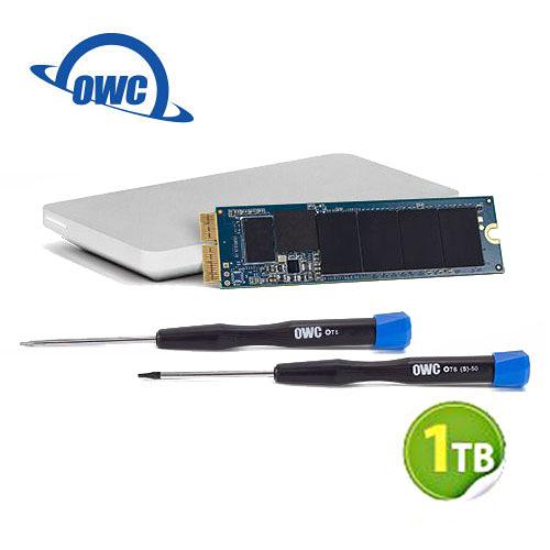OWC Aura N 1.0TB NVMe 完整Mac升級套件 SSD 含工具及Envoy Pro 外接盒 (OWCS3DAB2MB10K)