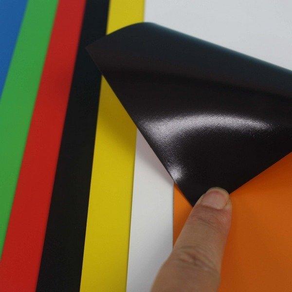 彩色軟性磁鐵片 10cm x 20cm/一片入(定20) 旻新 軟磁鐵 七彩軟性磁鐵 MIT製