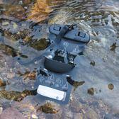 手機防水袋潛水套觸屏通用蘋果7px6寸小米外賣仿水雨浮潛臂包泳池