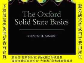 全新書博民逛書店TheOxford Solid State Basics 978