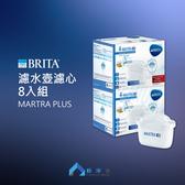 BRITA MAXTRA Plus 新一代全效濾心 八入組 BRITA系列濾水壺皆適用 │ 極淨水